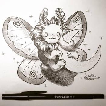 Inktober Day 25: Night Creatures