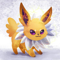 135 - Jolteon by TsaoShin