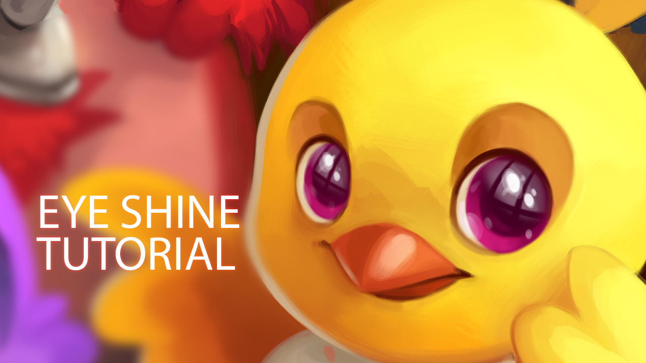 How to Paint Eye Shines by TsaoShin