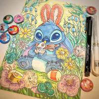 Easter Stitch by TsaoShin