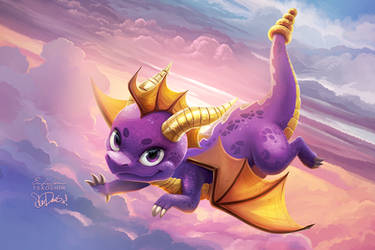 Spyro Sunrise by TsaoShin