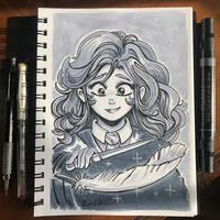 Inktober Day 4 - Spell by TsaoShin