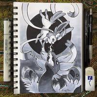 Inktober Day 21 - Drain by TsaoShin