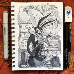 Inktober Day 22 - Expensive by TsaoShin