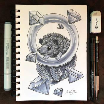 Inktober Day 25 - Prickly by TsaoShin