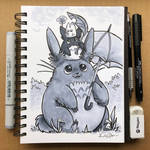 Inktober Day 28 - Gift by TsaoShin