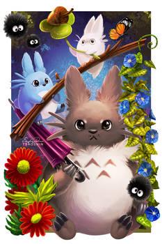 Totoro Balance Digital by TsaoShin