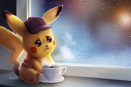 Rainy Day Coffee by TsaoShin