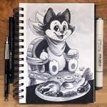Inktober Day 25 - Tasty by TsaoShin
