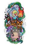 Ghibli Tattoo Commission