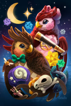 Blathers and Celeste