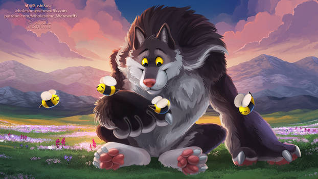 Wholesome Werewuff - Collab