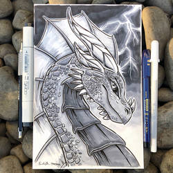 Lightning Dragon - Gift Art