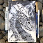 Lightning Dragon - Gift Art