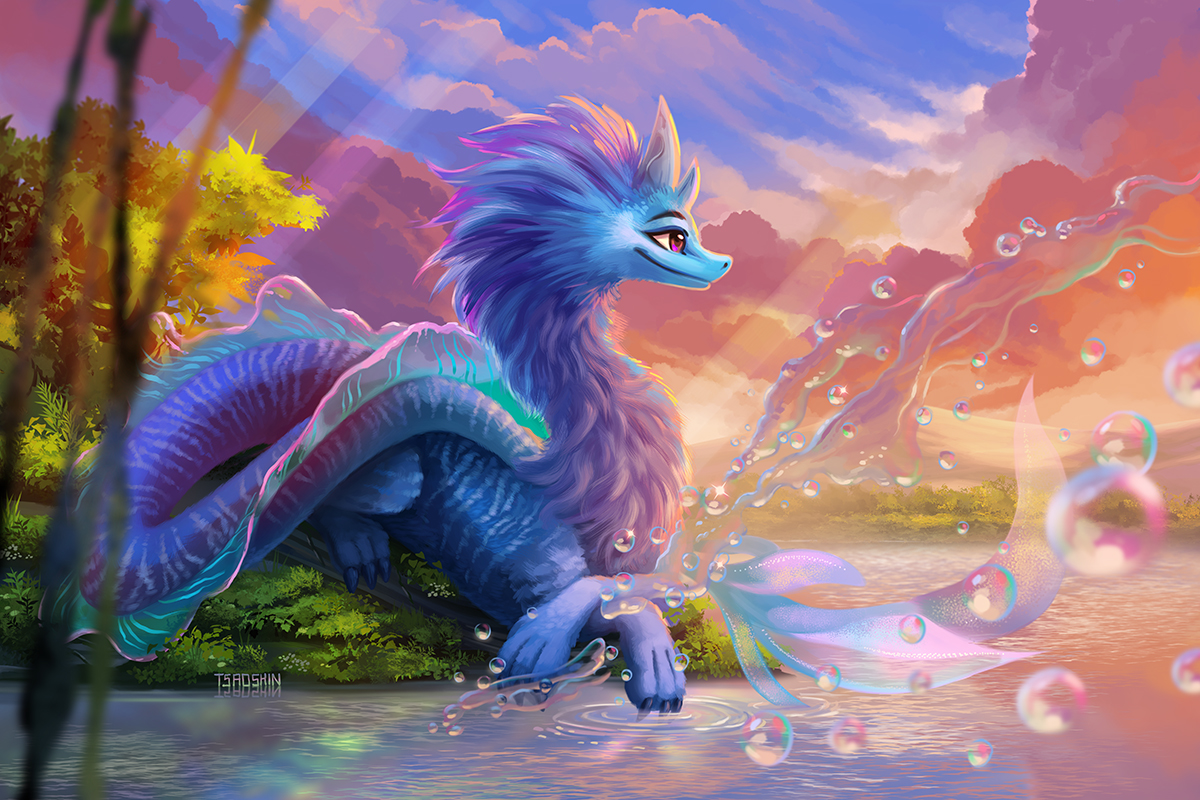 Sisu from Raya and The Last Dragon