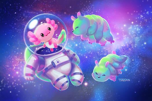 Axolotl Astronaut