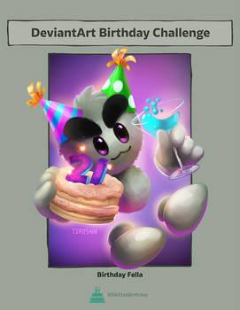 Happy 21st Birthday DeviantArt