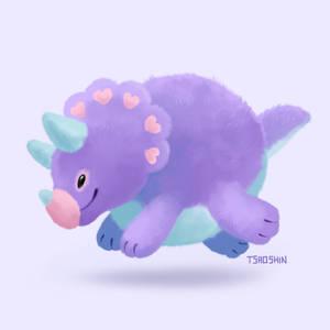 Fuzzy Triceratops