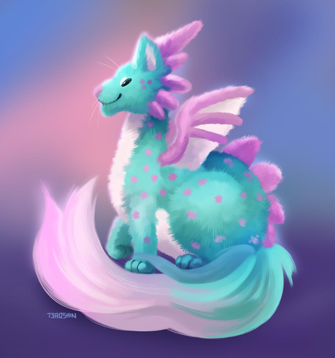 Fluffy Dragon