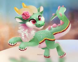 Princess Cake Dragon
