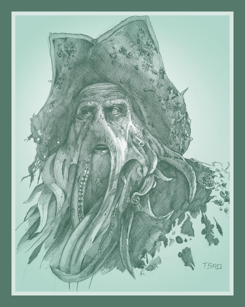 Davy Jones by TsaoShin