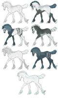 Peafrie Breeding Foals