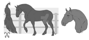 VernalEquinoxStables | Peaf Lineart Commission
