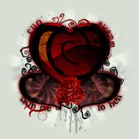 Dark Heart Panorama by MagusMainyu