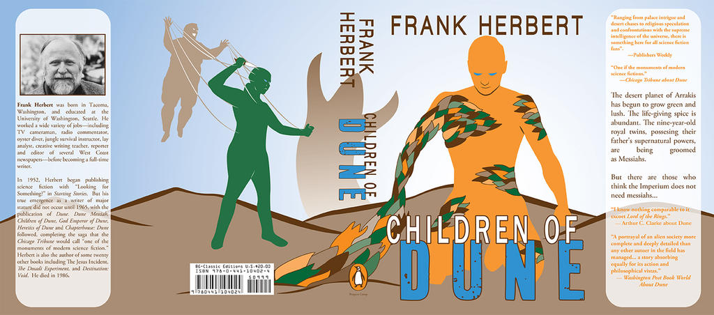 Children Of Dune Book Cover : Children of dune book cover by disturbedshifty on deviantart