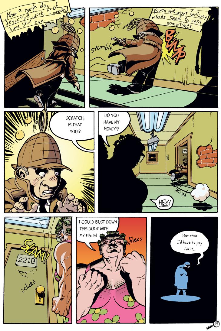 Detective Scratch Page 15 - COLOR by mistermuck