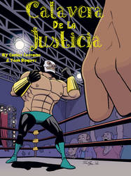 Calavera De La Justicia Cover Color by mistermuck