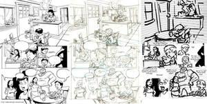 Calavera Process Page 1 by mistermuck