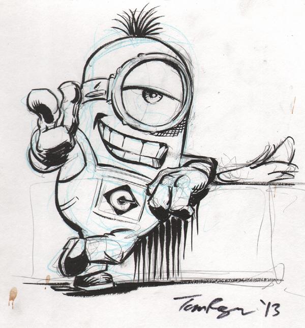 Sassy Minion by mistermuck