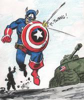 Cap doodle by mistermuck