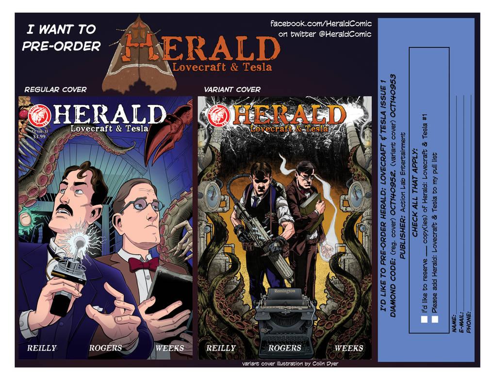 Herald pre-order postcard! by mistermuck