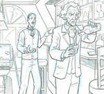 'Herald' preview panel - Tesla and Twain by mistermuck