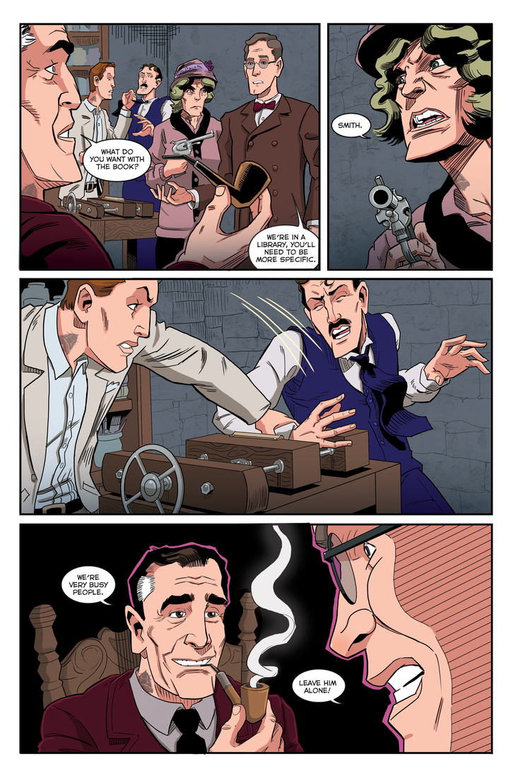 Herald: Lovecraft and Tesla preview page 03_03 by mistermuck