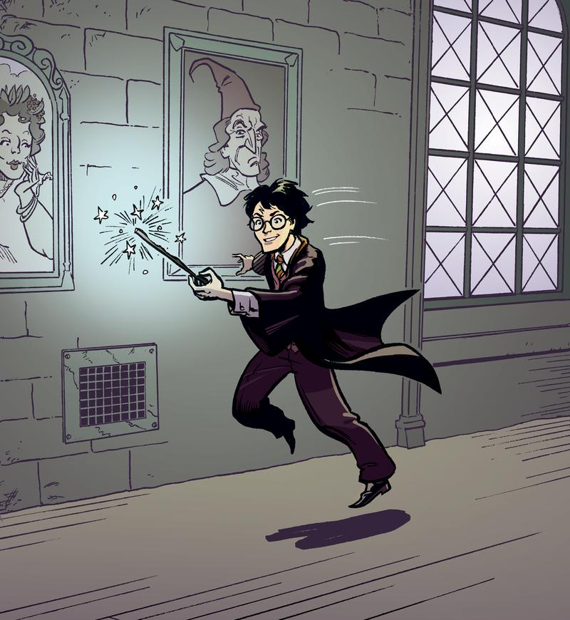 Harry Potter by mistermuck