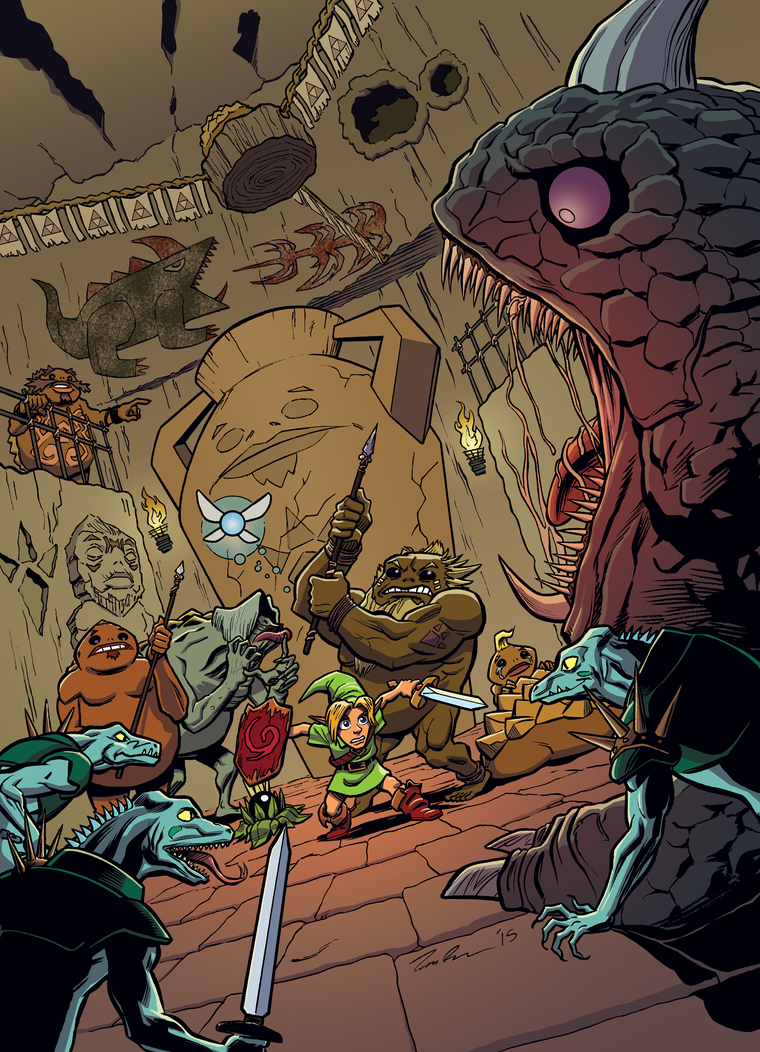 Link in Goron City COLORS by mistermuck