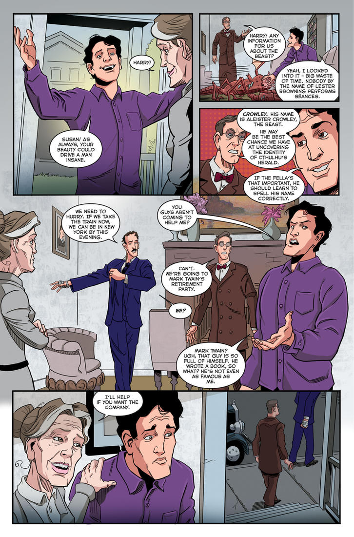 Herald: Lovecraft and Tesla preview page 04_03 by mistermuck
