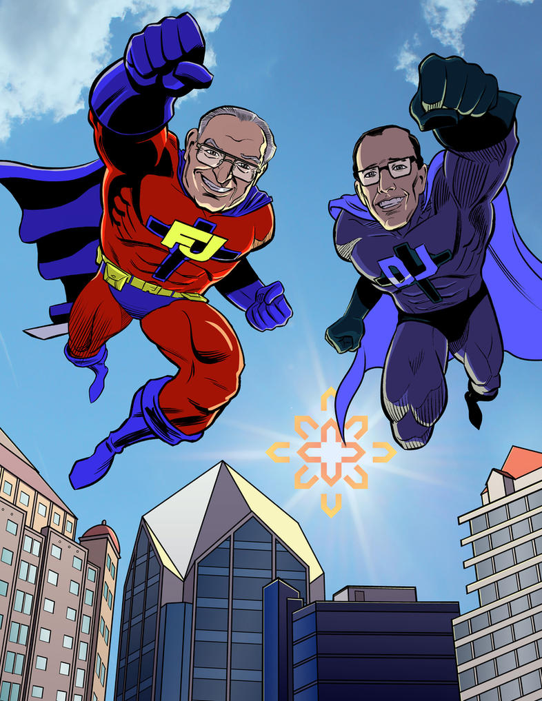 Father Joe's Villages: Superhero Commission by mistermuck