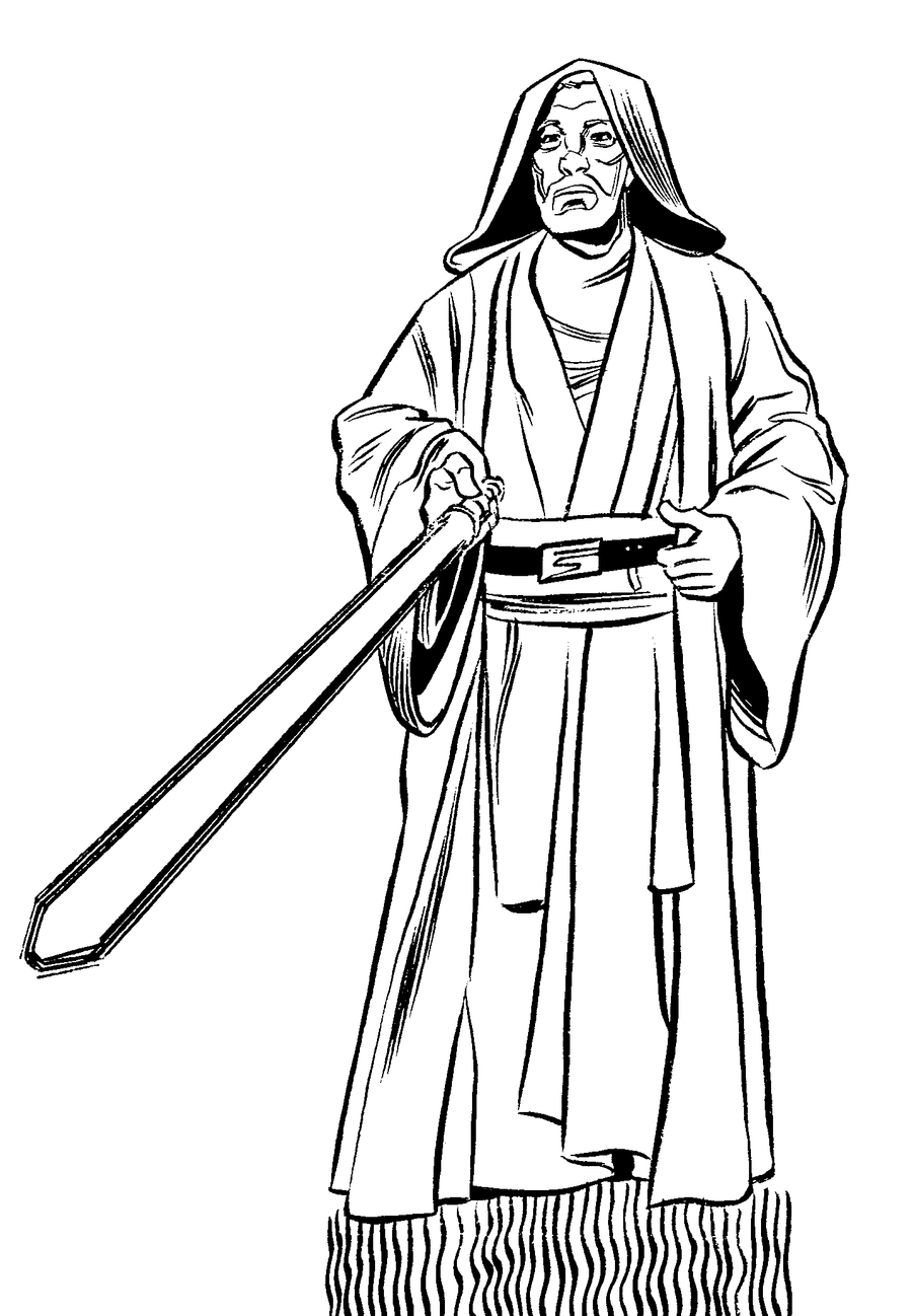 Inktober Obi Wan Kenobi Mistermuck Deviantart
