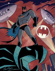 90s Batman by mistermuck