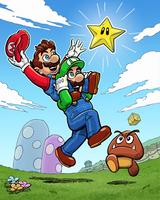 Super Mario Bros by mistermuck