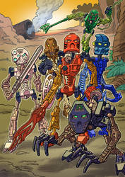 Bionicle by mistermuck