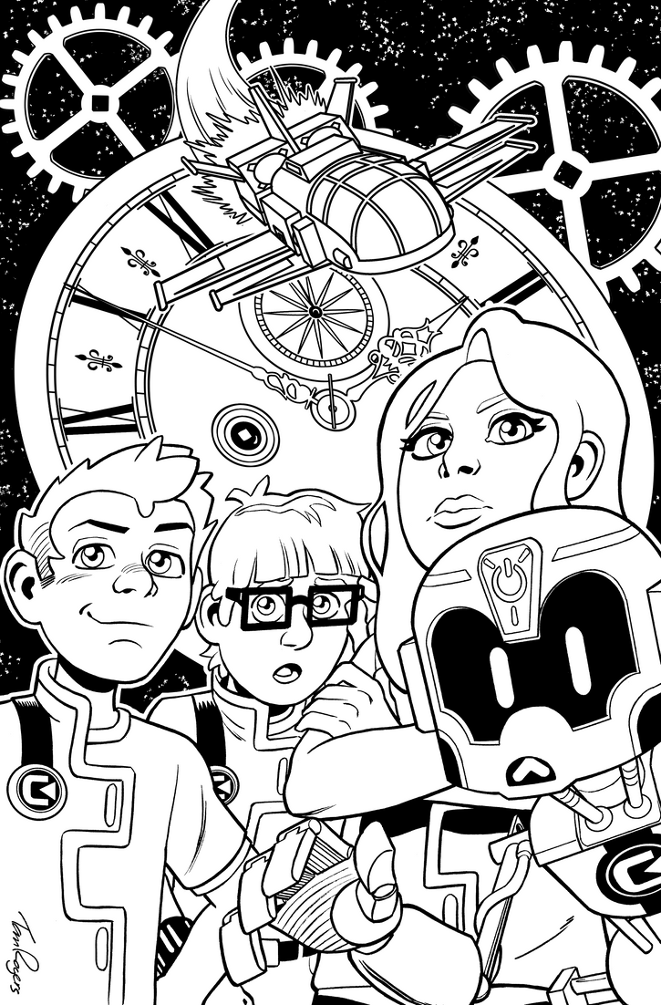 Chrono Cadets by mistermuck
