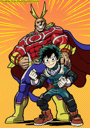 My Hero Academia by mistermuck