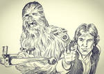RIP, Peter Mayhew by mistermuck