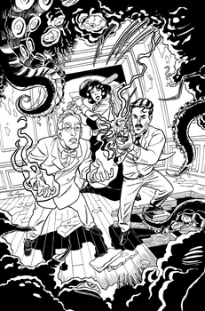 Herald: Lovecraft and Tesla vol 4 INKs