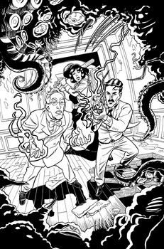 Herald: Lovecraft and Tesla vol 4 INKs